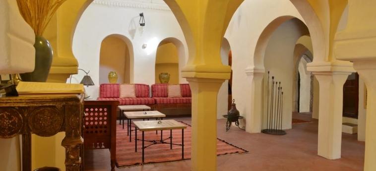 Hotel Dar Dhiafa: Hall DJERBA
