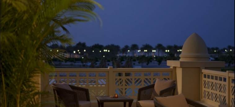 Hotel Grand Hyatt Doha: Terrasse DOHA