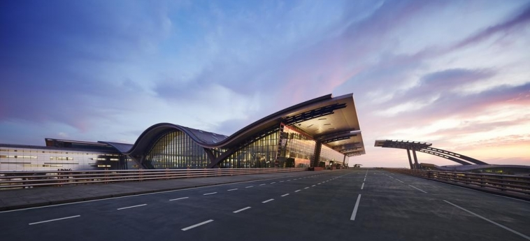 Oryx Airport Hotel -Transit Only: Esterno DOHA