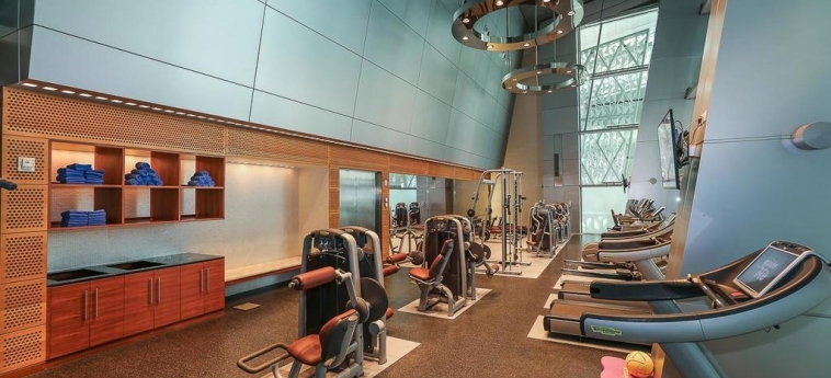 Oryx Airport Hotel -Transit Only: Gym DOHA