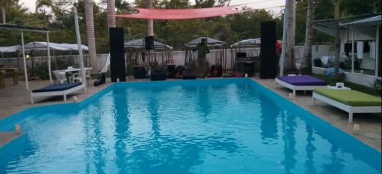 Hostel Laguna Park Cabarete: Swimming Pool DOMINIKANISCHE REPUBLIK