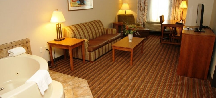Hotel Holiday Inn Express & Suites: Baignoire à jets DONEGAL (PA)