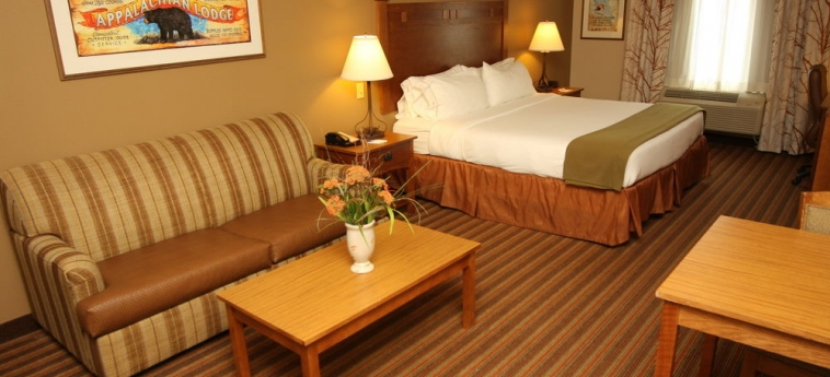 Hotel Holiday Inn Express & Suites: Chanbre DONEGAL (PA)