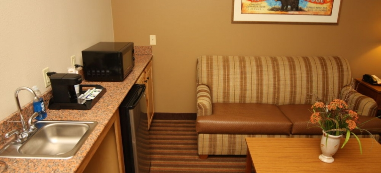 Hotel Holiday Inn Express & Suites: Living area DONEGAL (PA)