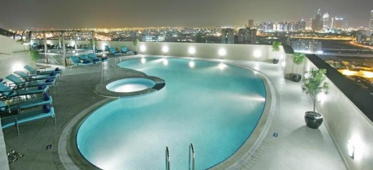 Hotel Elite Byblos: Piscina DUBAI