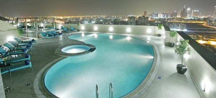 Hotel Elite Byblos: Swimming Pool DUBAI
