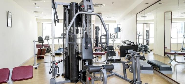 Al Waleed Palace Hotel Apartments - Al Barsha: Salle de Gym DUBAI