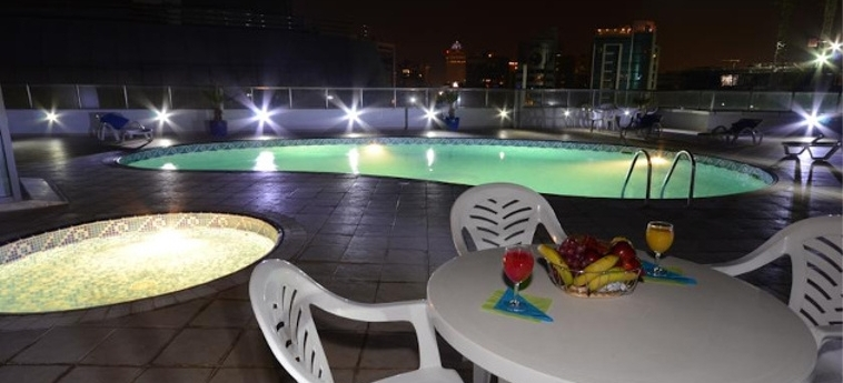 Al Waleed Palace Hotel Apartments - Al Barsha: Swimming Pool DUBAI