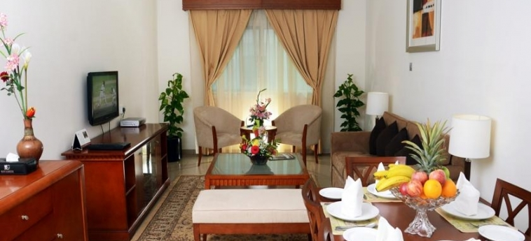 Rose Garden Hotel Apartment - Bur Dubai: Salotto DUBAI