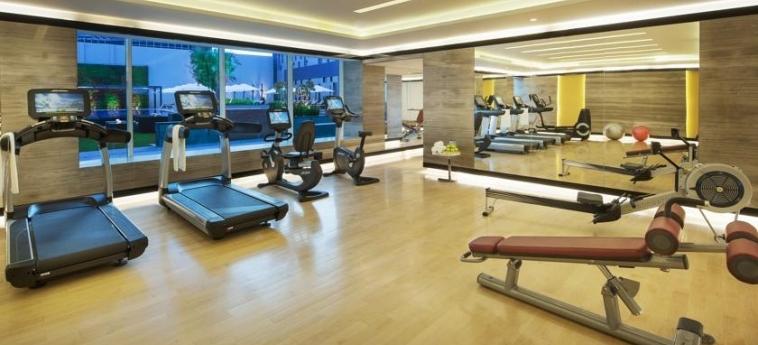 Hotel Damac Maison Cour Jardin: Palestra DUBAI