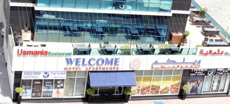 Welcome Hotel Apartments: Exterieur DUBAI