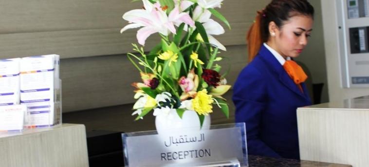 Welcome Hotel Apartments: Reception DUBAI