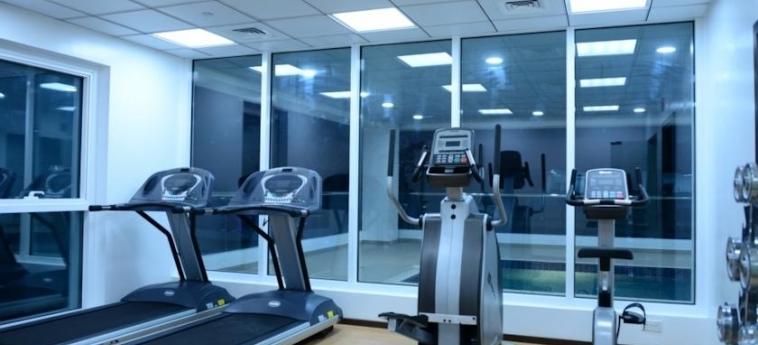 Welcome Hotel Apartments: Salle de Gym DUBAI