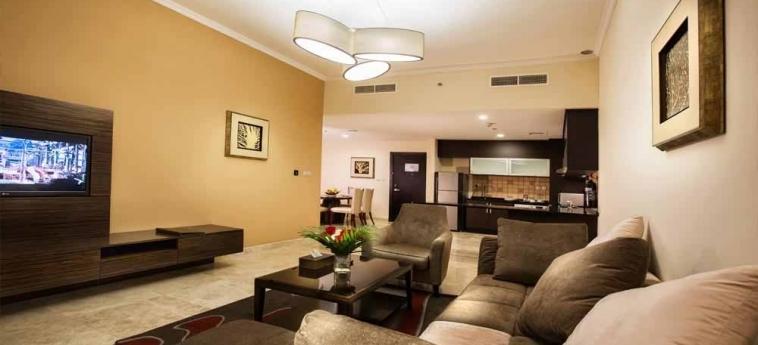 Ghaya Grand Hotel: Appartement DUBAI