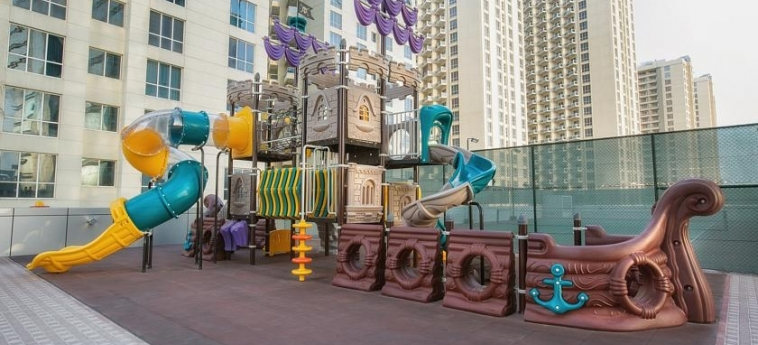 Ghaya Grand Hotel: Cour de Recreation DUBAI