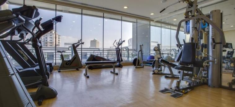 Mena Aparthotel Albarsha: Gym DUBAI