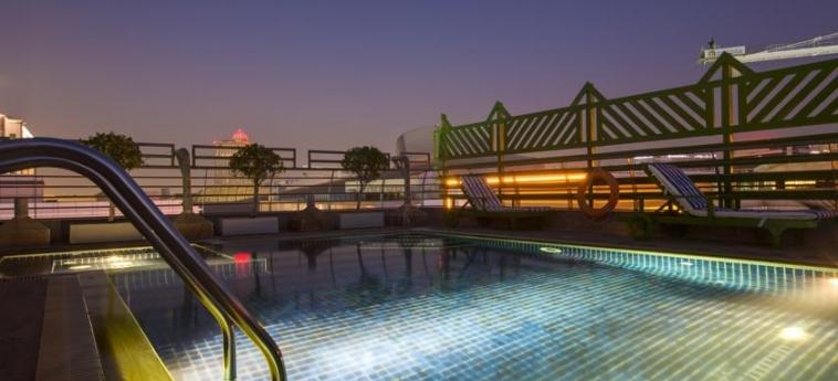 Mena Aparthotel Albarsha: Swimming Pool DUBAI