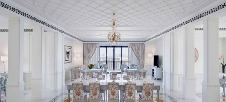 Hotel Palazzo Versace Dubai: Appartamento DUBAI