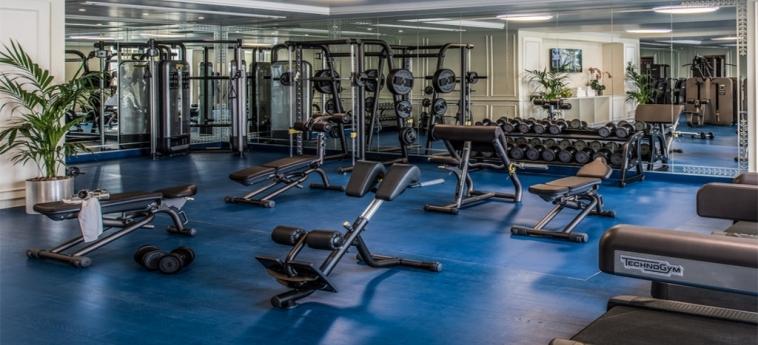 Hotel Palazzo Versace Dubai: Fitnesscenter DUBAI