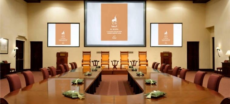 Hotel Al Maha, A Luxury Collection Desert Resort & Spa, Dubai: Meeting Room DUBAI