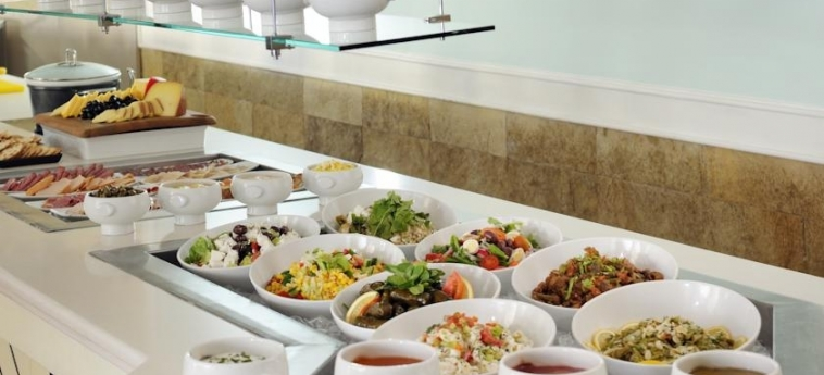 Hotel Courtyard Dubai, Green Community: Buffet DUBAI