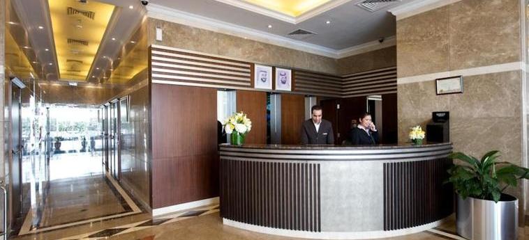 Time Crystal Hotel Apartments: Reception DUBAI