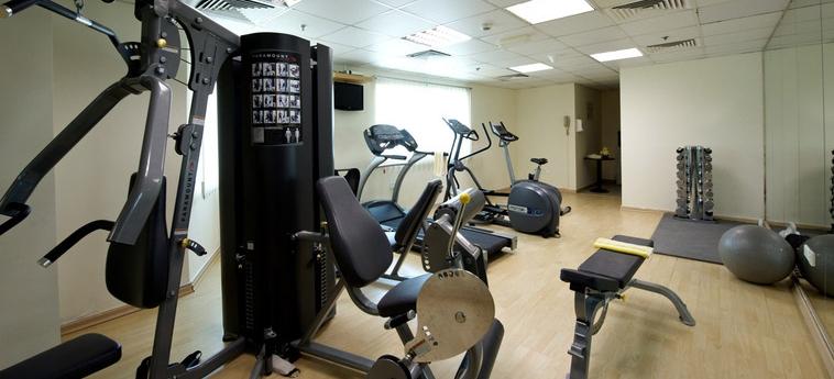 Time Crystal Hotel Apartments: Salle de Gym DUBAI