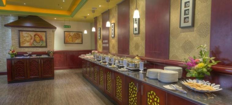 Fortune Grand Hotel Apartments, Bur Dubai: Buffet DUBAI