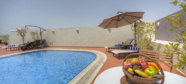 Fortune Grand Hotel Apartments, Bur Dubai: Swimming Pool DUBAI