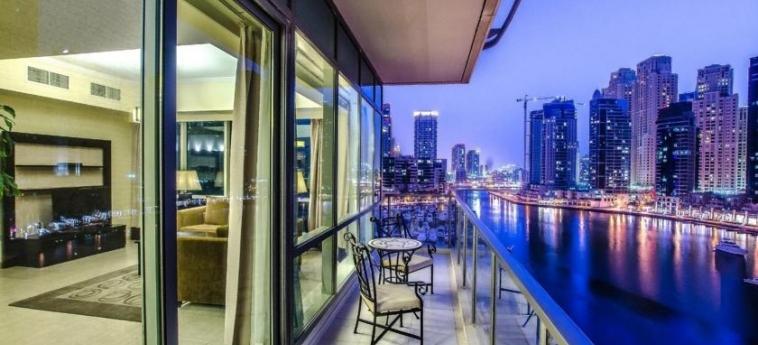 Hotel Nuran Marina Serviced Residences: Balcony DUBAI