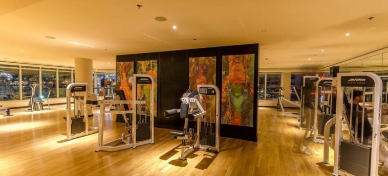 Hotel Nuran Marina Serviced Residences: Gym DUBAI