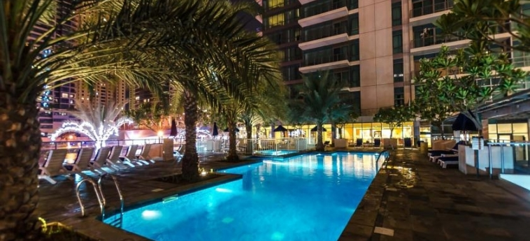 Hotel Nuran Marina Serviced Residences: Outdoor Swimmingpool DUBAI