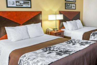 Hotel Sleep Inn & Suites: Habitaciòn DUBLIN (VA)