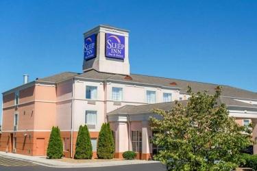 Hotel Sleep Inn & Suites: Außen DUBLIN (VA)
