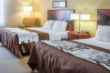 Hotel Sleep Inn & Suites: Gästezimmer DUBLIN (VA)