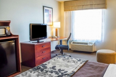 Hotel Sleep Inn & Suites: Gastzimmer Blick DUBLIN (VA)