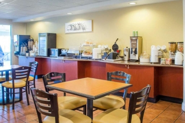 Hotel Sleep Inn & Suites: Restaurant DUBLIN (VA)