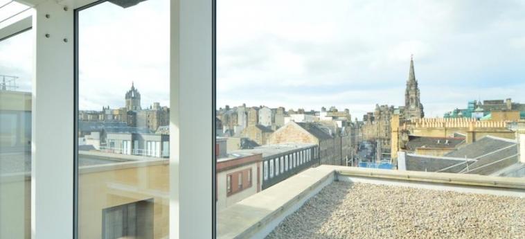 Hotel Ibis Edinburgh Centre South Bridge – Royal Mile: Aussicht EDINBURGH