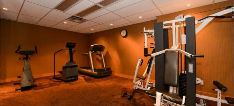 Edmonton Hotel & Convention Centre: Gimnasio EDMONTON