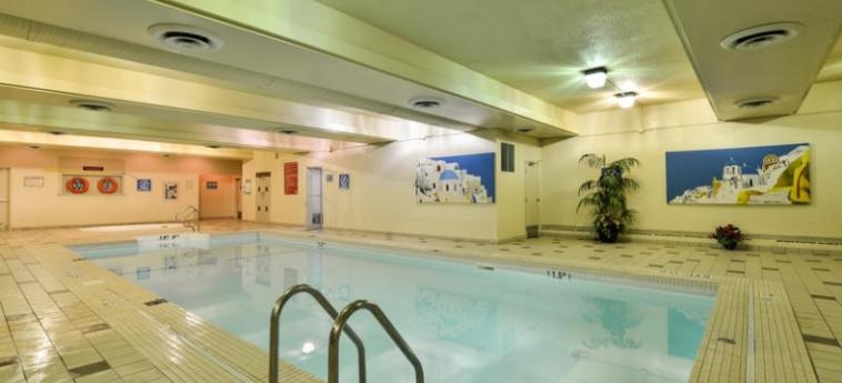 Edmonton Hotel & Convention Centre: Piscine Couverte EDMONTON