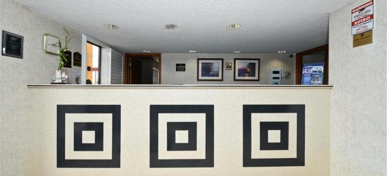 Hotel B/w Sunland Park Inn: Lobby EL PASO (TX)