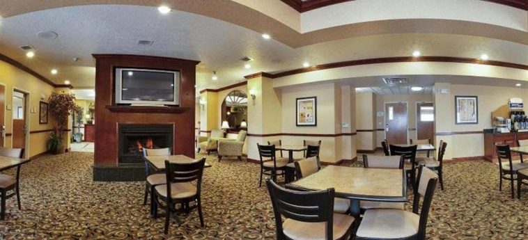 Hotel Holiday Inn Express Suites I-10 East: Breakfast area EL PASO (TX)