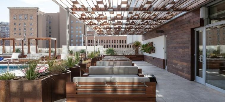 Hotel Indigo El Paso Downtown: Terraza / Patio  EL PASO (TX)