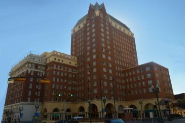 Hotel Camino Real El Paso: Vista desde el hotel  EL PASO (TX)
