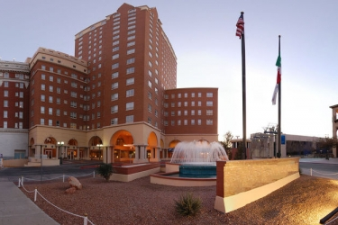 Hotel Camino Real El Paso: Hotel front EL PASO (TX)