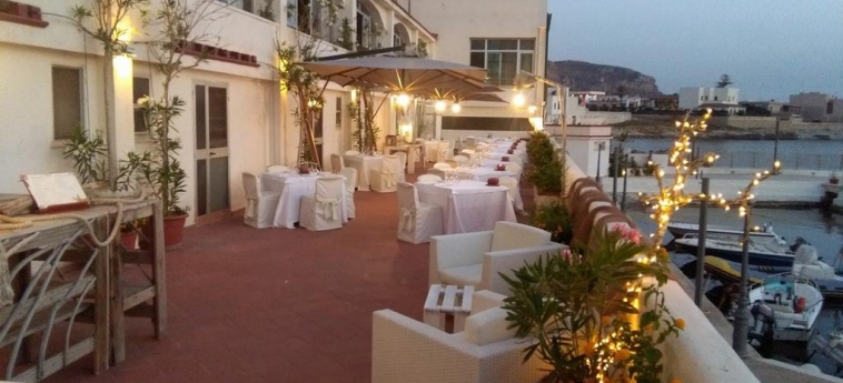Sea Club Hotel Tirreno: Sundeck ERICE - TRAPANI