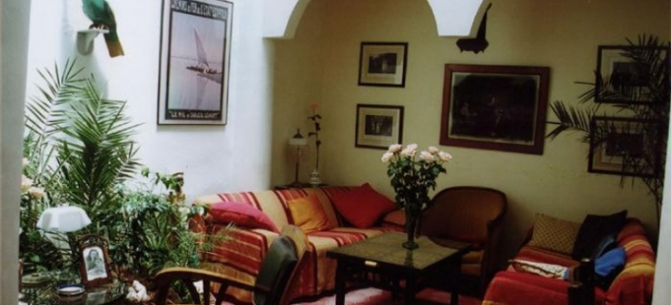 Hotel Le Cactus Bleu: Lobby ESSAOUIRA