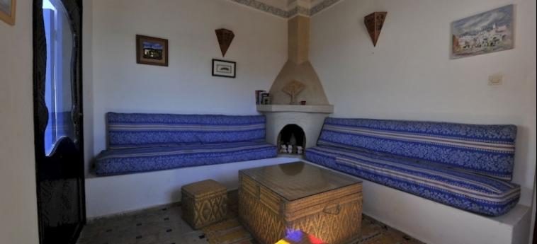Hotel Dar Rahaothello: Chambre Supérieure ESSAOUIRA