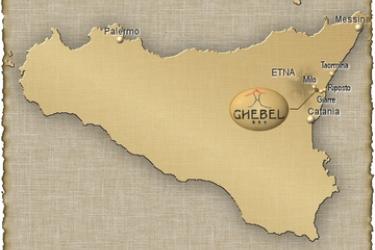 Hotel Ghebel Resort: Mapa ETNA AREA