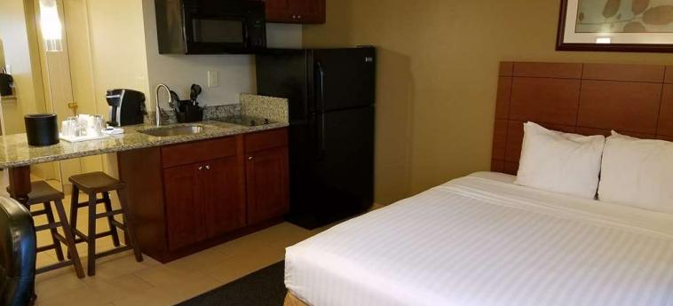 Hotel Best Western Cascadia Inn: Gastzimmer Blick EVERETT (WA)